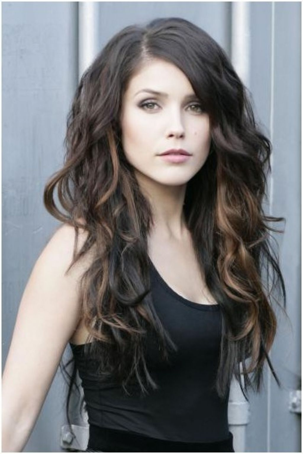 Long Layered Hairstyles Wavy  Easy Hairstyles  Hair Dos  Curly hair styles Curly hair cuts