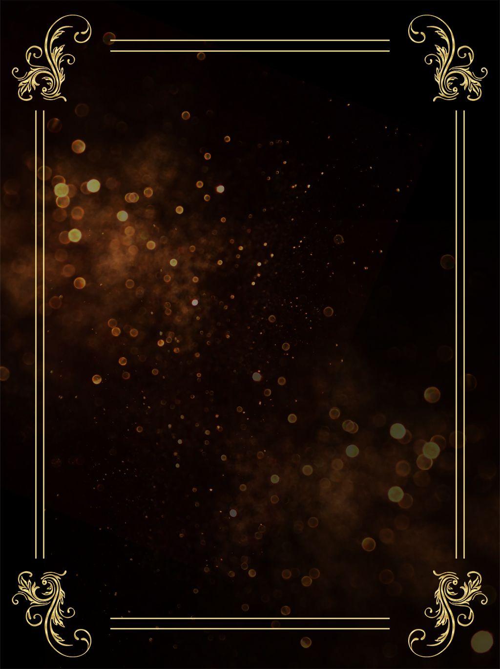 ضوء تأثير خلفية الإعلان الذهب الأسود Textured Background Background Light Effect