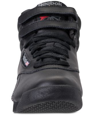 Reebok Women's Freestyle High Top Casual Sneakers from