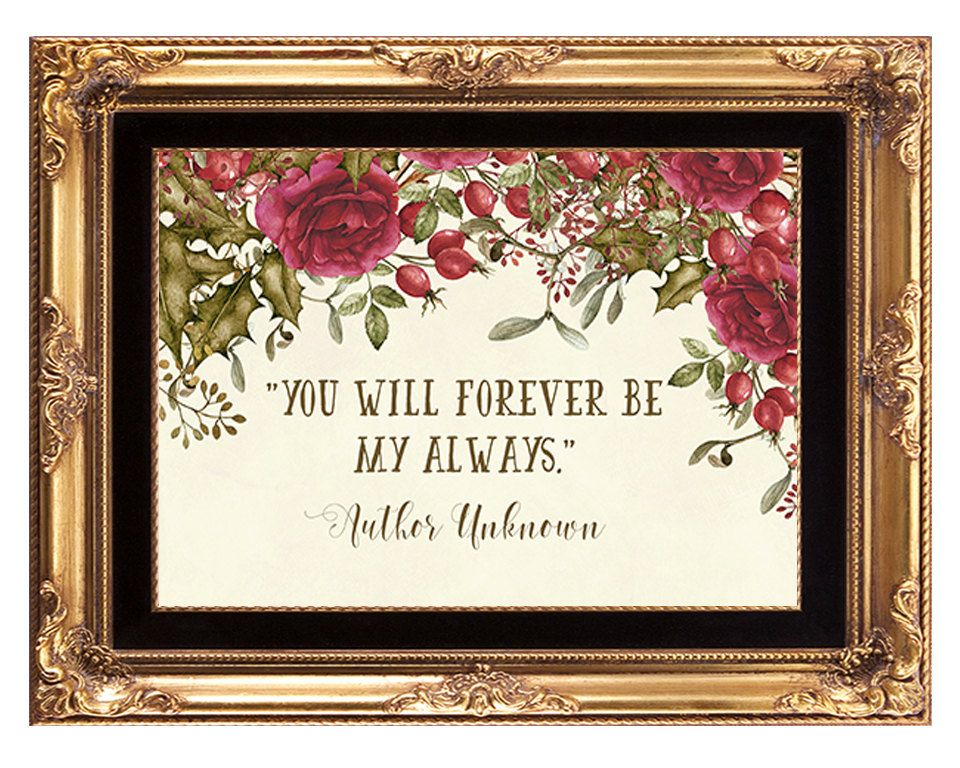 christmas wedding sign, printable quote, winter wedding
