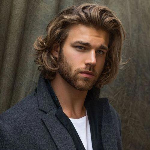 Shoulder Length Hair For Men Hairstylesformen Long Hair Styles Men Mens Hairstyles Medium Medium Length Hair Men