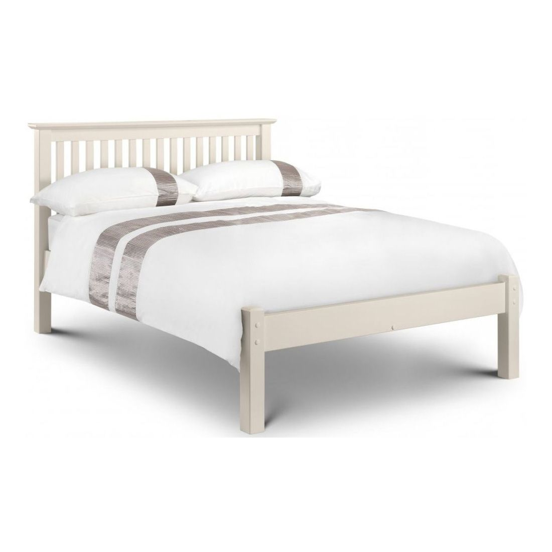 Practical Silentnight Hayes Double Bed Frame Home, Furniture & Diy White
