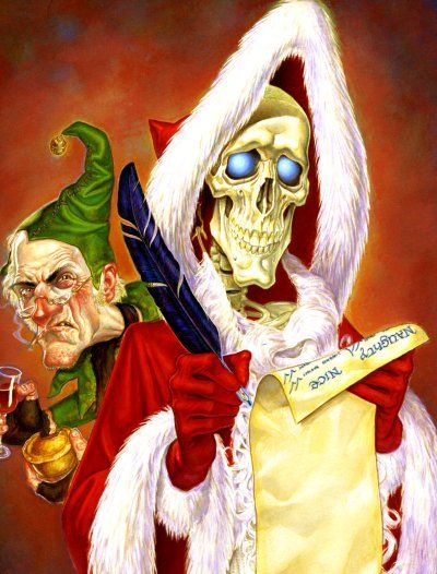 Death As The Hogfather Joy And Midwinter Pinterest