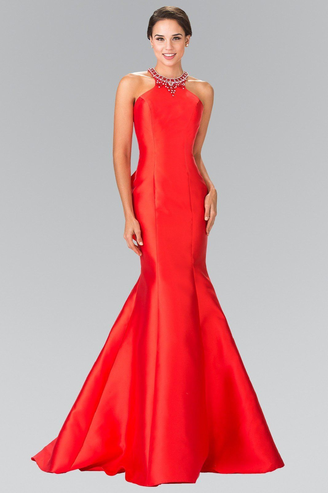Tight mermaid prom dress with ruffles gl motheraunt of the