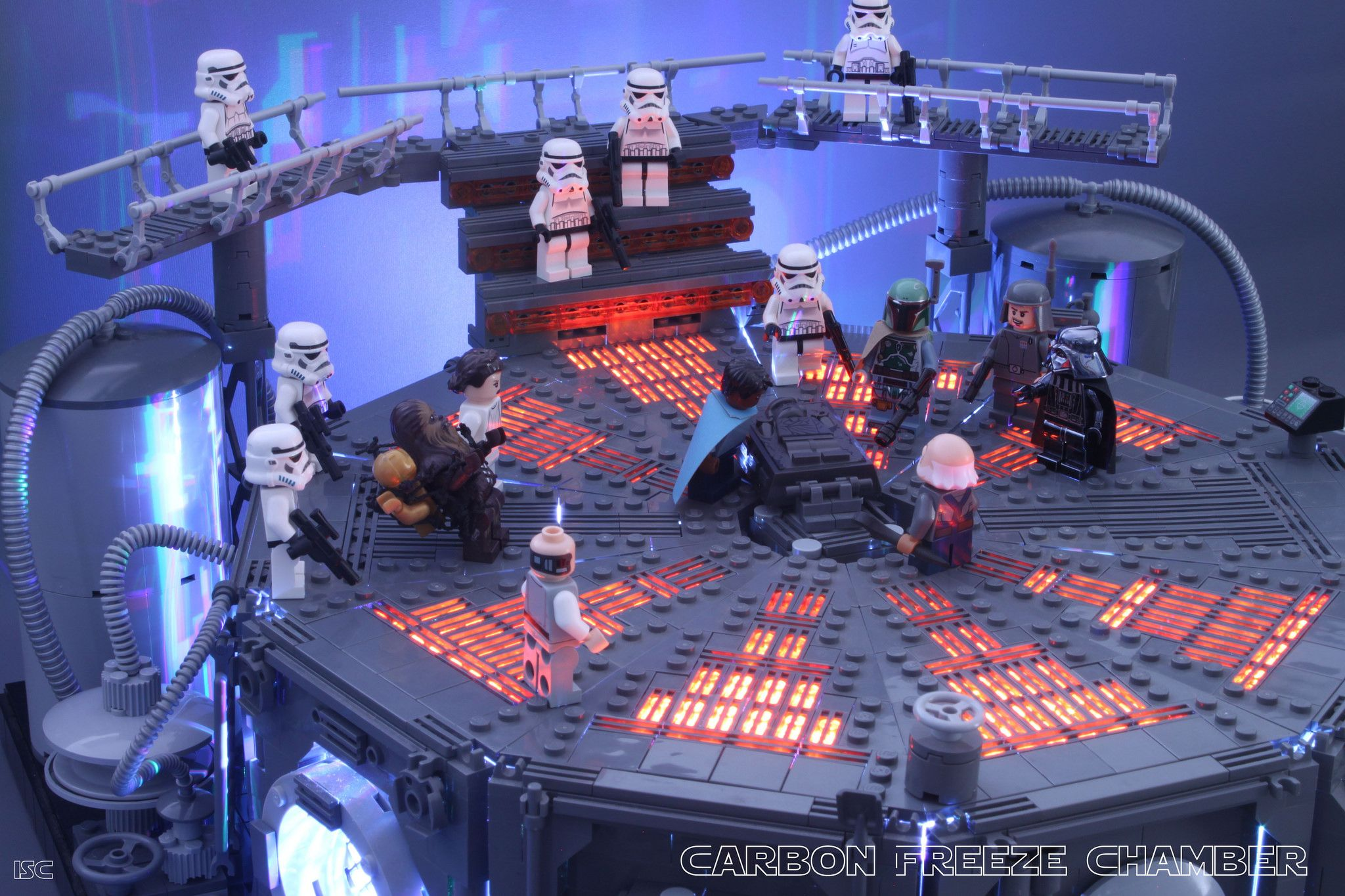 LEGO Star Wars Carbon Freezing Chamber *NO MINIFIGURES* from set 75137