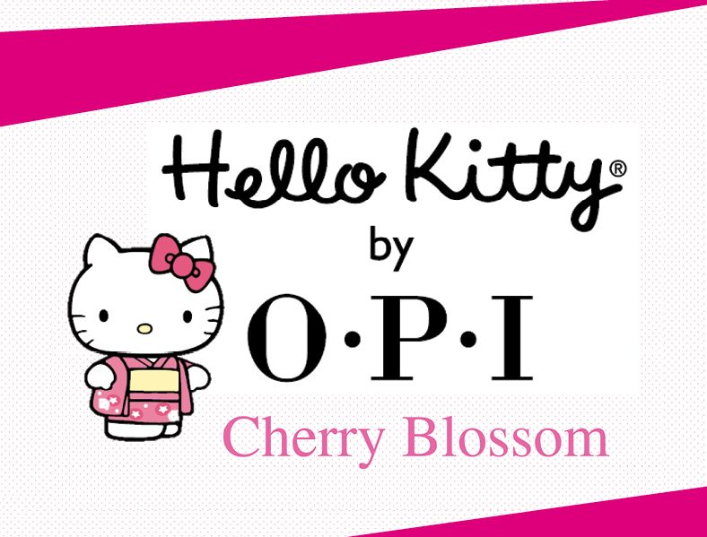 LIKE & Share OUR PAGE if You ❤ OPI! New Arrival! Hello Kitty Cherry Blossom 2016. Beware of Counterfeit. For more information call OPI Singapore - Alexis Links Group at 6841 0187. www.opi.com.sg