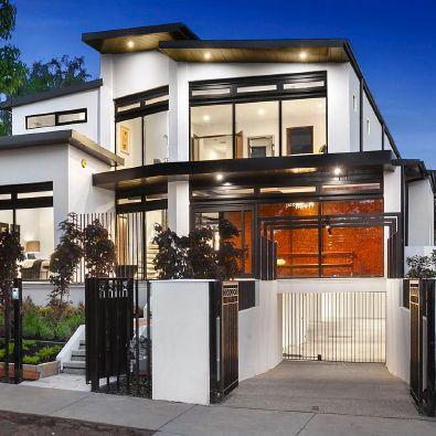 Casa prefabricada estructura met lica de acero de - Casas con estructura metalica ...