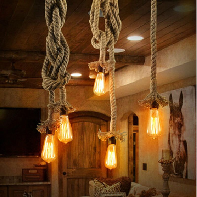 Find more information about vintage rope pendant lights loft diy find more information about vintage rope pendant lights loft diy handmake rope pendants lamps industrial edison aloadofball Choice Image
