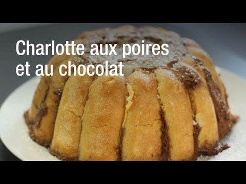 Charlotte Aux Poires Et Au Chocolat Facile Rapide Une Recette