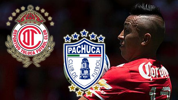 Cristian Cueva Toluca Vs Pachucha En Vivo Online Por La Liga Mx Sport Team Logos Juventus Logo Team Logo