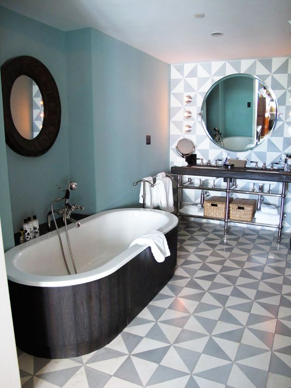 Bathroom Tiles Miami soho house miami bathrooms - google search | inspiring hotels