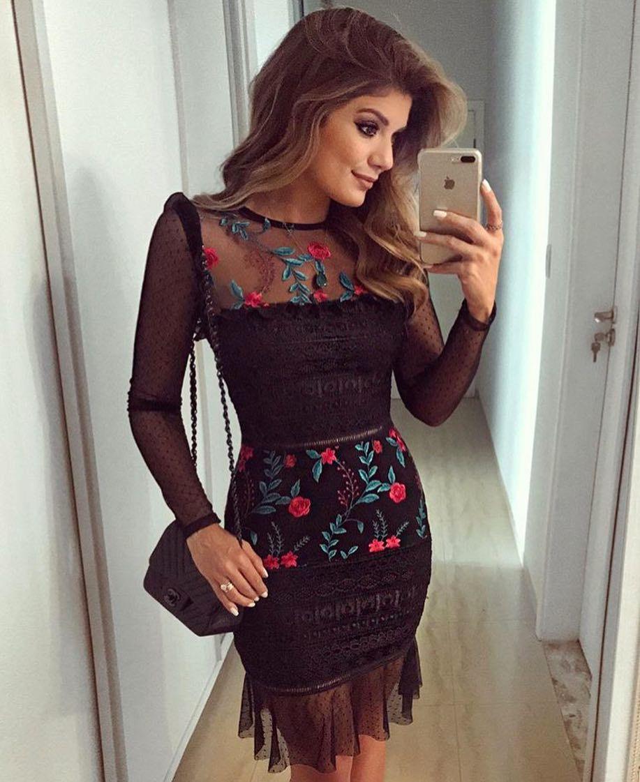 4d1e1fa48 Tule bordado, tule de poá e renda! Esse foi o mix de texturas do nosso  vestido novo!!! Façam seus pedidos! @arianecanovas #newlooks #newcollection  # ...