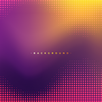 Abstract Purple And Yellow Background Texture With Square Halftone Pattern Texture Png And Vector With Transparent Background For Free Download Halftone Halftone Graphic Geometric Graphic