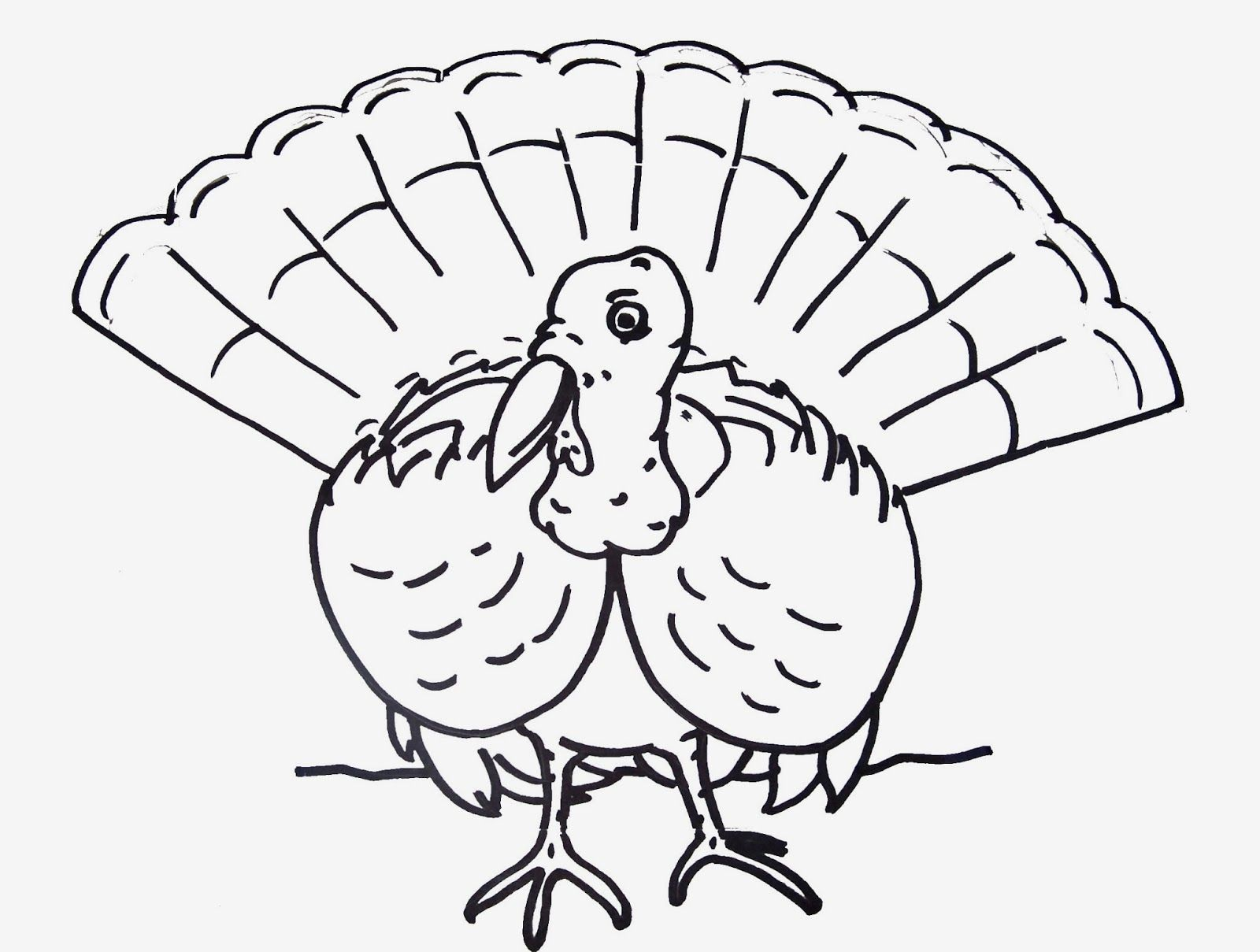 coloring pages for thanksgiving turkeys coloring pages