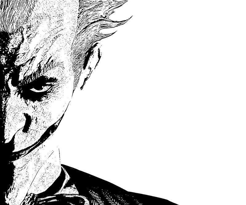 batman arkham city joker terror coloring pages