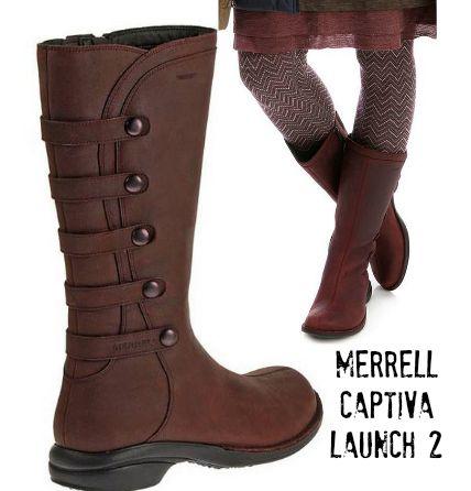 merrell captiva boots size 10 production