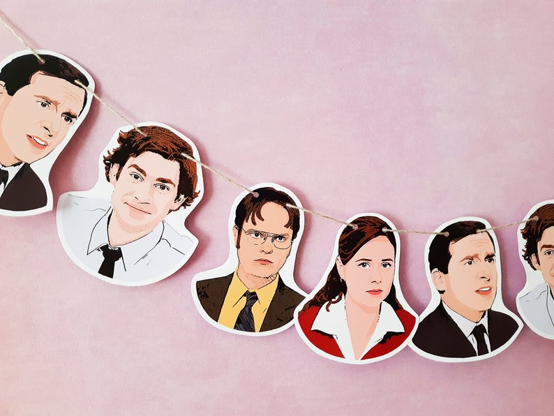The Office Tv Show Banner Digital Download The Office Party Etsy Office Tv Office Tv Show The Office Show