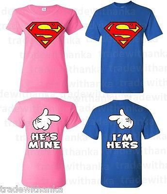 image Couple superman tshirt baru balik dari mall