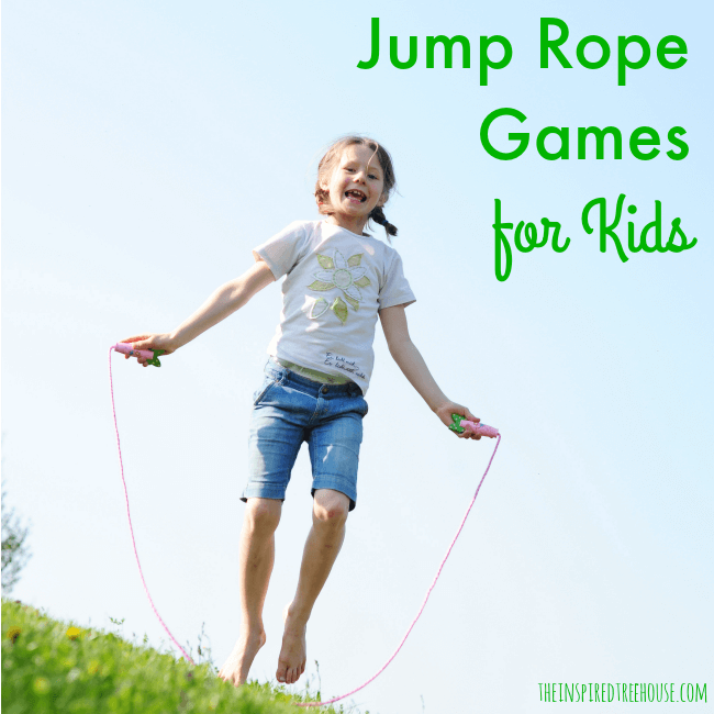 JUMP ROPE GAMES FOR KIDS Jump rope games, Exercise for