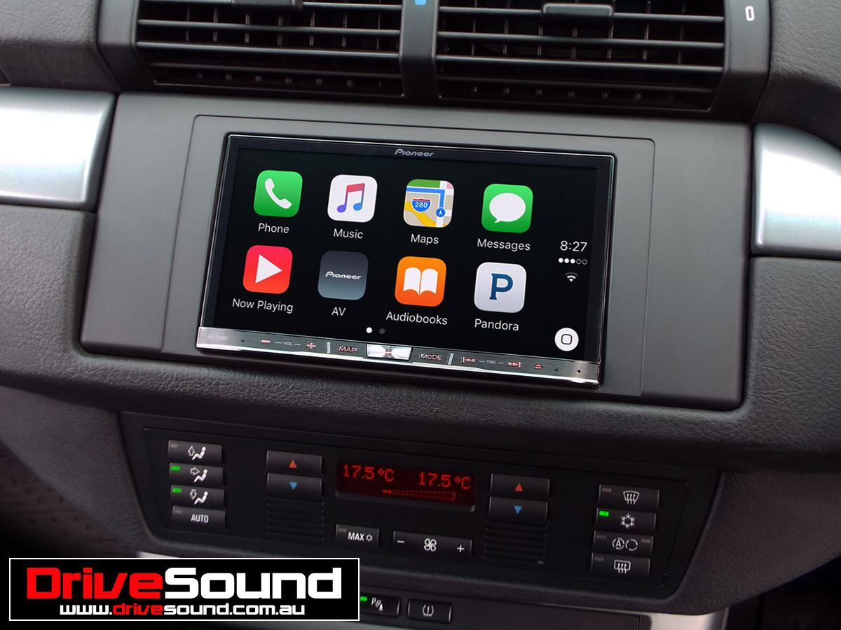 bmw x5 with apple carplay installed by drivesound apple. Black Bedroom Furniture Sets. Home Design Ideas
