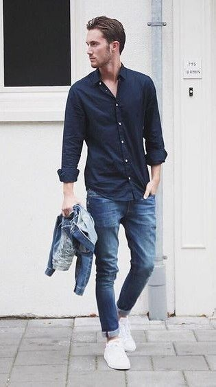 Trendy Summer Outfit To Copy ASAP For Men 39  Mensoutfits Blue Jeans For  Men 93dbf1f86a5
