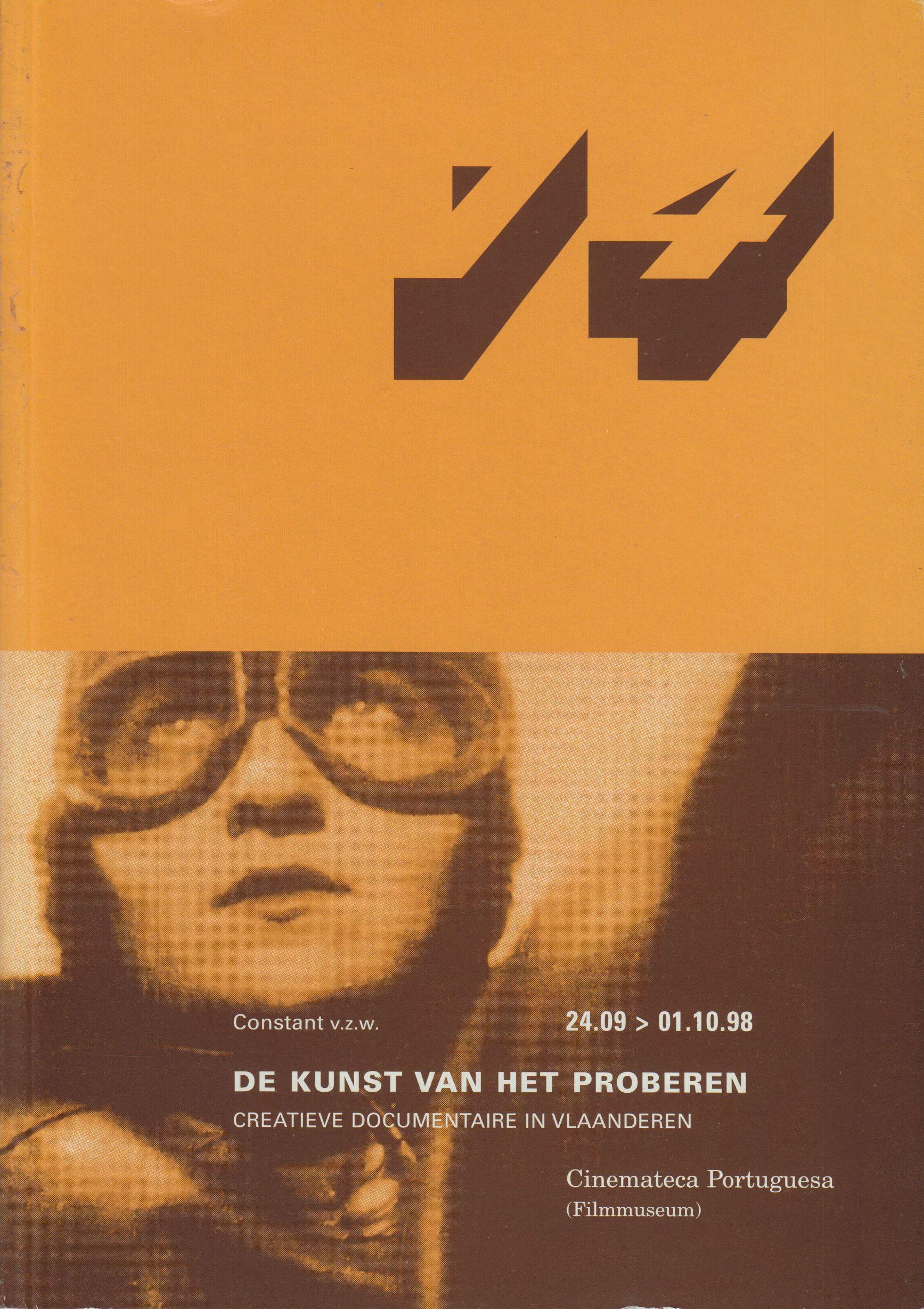 Neural [Archive] De Kunst Van Het Proberen - Creatieve Documentaire In Vlaanderen / Cinemateca Portuguesa Edwin Carels http://archive.neural.it/init/default/show/2437