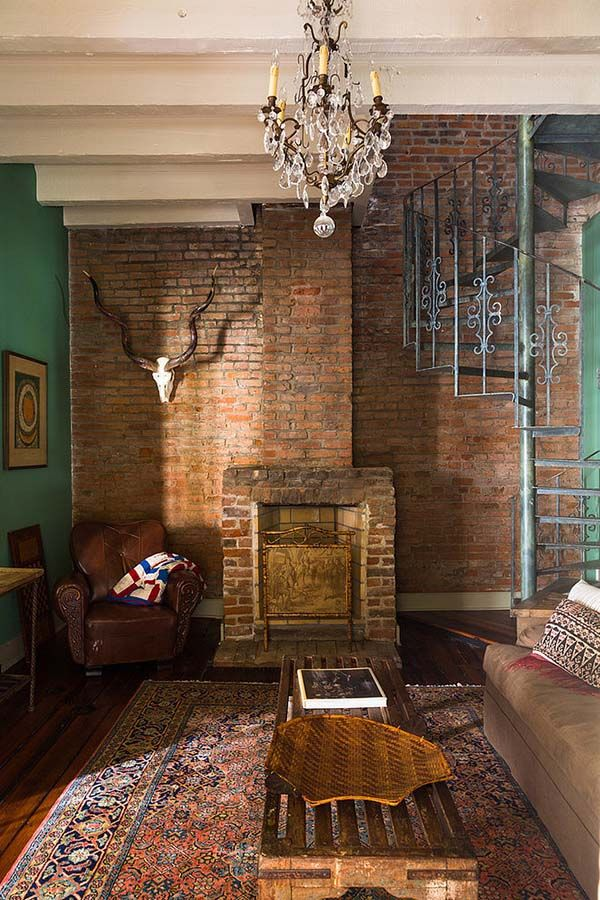 Restoration of eclectic french quarter pied a terre in new - New orleans style bedroom decorating ideas ...