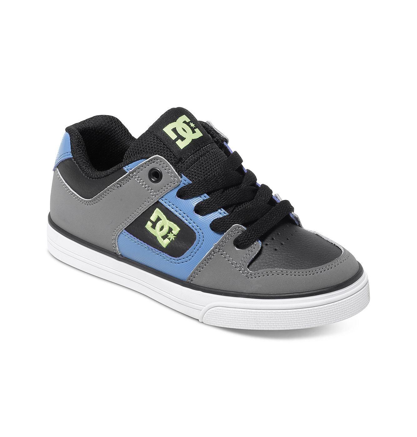 Pure - DC Shoes Low Top Schuhe für Jungen  Pure Low Top Schuhe von DC Shoes. Die Eigenschaften dieses Produkts sind: Low Top Schuhe, Zehenkappen-Overlay für besondere Strapazierfähigkeit und gepolsterter Einstieg und Zunge für extra Komfort. Dieses Produkt besteht aus: Obermaterial: Leder/Innenfutter: Textil/Außensohle: Gummi.  Merkmale:  Low Top Schuhe, Zehenkappen-Overlay für besondere Strapa...