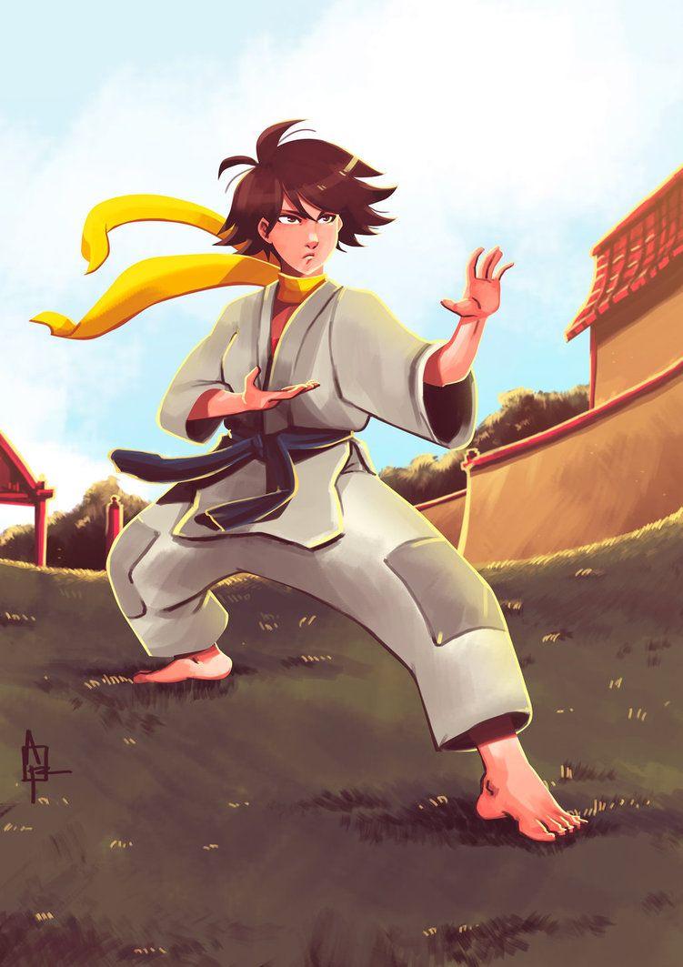 Makoto Street Fighter Fighter Girl Fighter