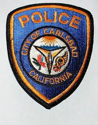 Carlsbad Police Orange County California Pd Ca Patch Police Patches Police Patches