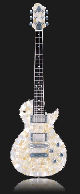 Zemaitis Guitars - Art with Strings - Mosaic Tile