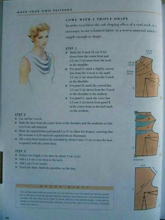 Col pli chal | Vêtements et accessoires à porter | Pinterest ...