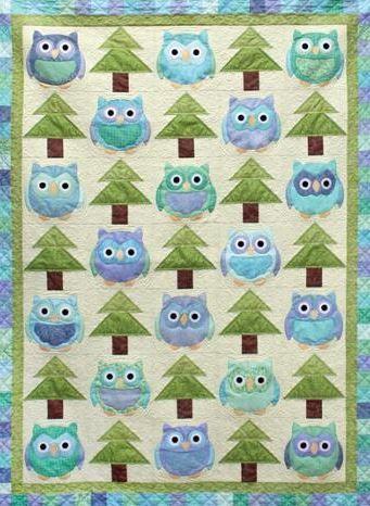 7 Terrific Tree Quilt Patterns | Owl, Tree quilt pattern and Tree ... : owl pattern quilt - Adamdwight.com