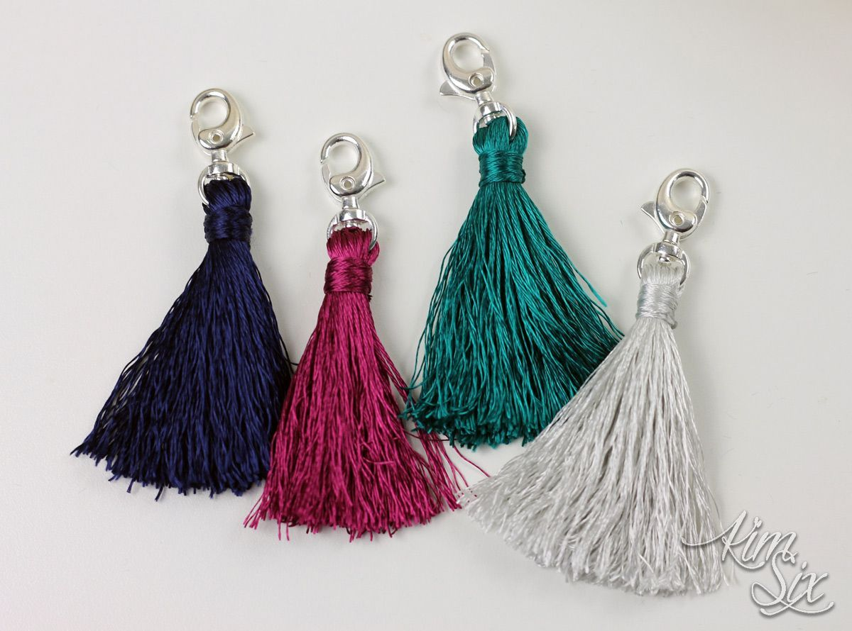 Easy Embroidery Floss Tassels embroideryfloss A step by