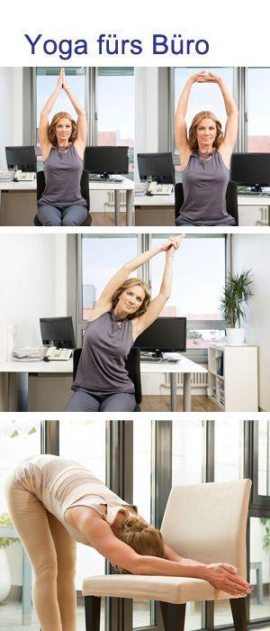ooom im b ro mit diesen yoga bungen vertreibst du stress verspannungen das b ro yoga und. Black Bedroom Furniture Sets. Home Design Ideas