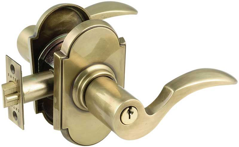 Collection Lever Door Handle With Lock Pictures   Door Handle Ideas