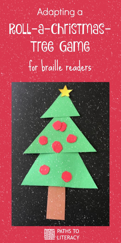 Adapting Roll A Christmas Tree Game Christmas Tree Game Christmas Tree Winter Holidays Activity