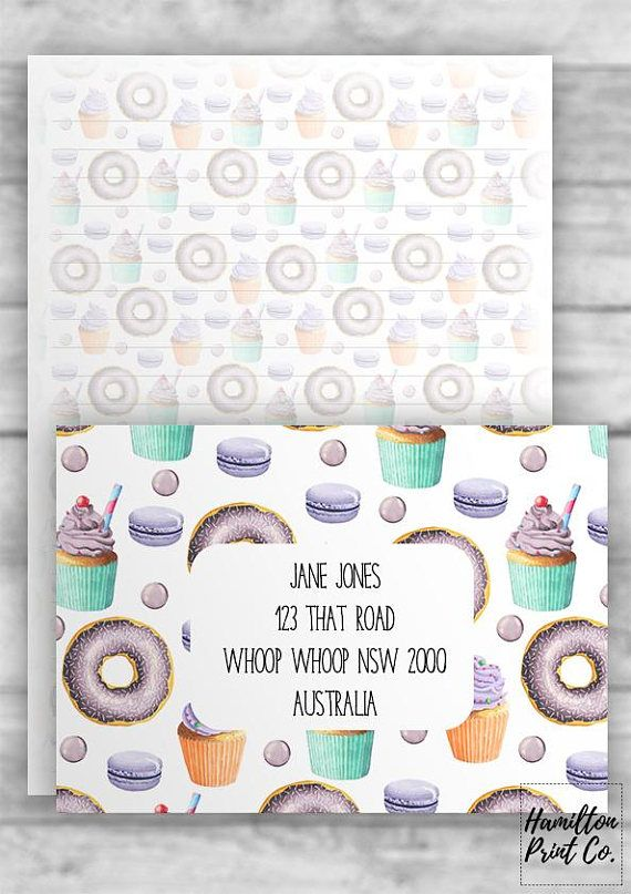Printable a5 sweet lavender letter writing kit snail mail printable a5 sweet lavender letter writing kit snail mail spiritdancerdesigns Choice Image
