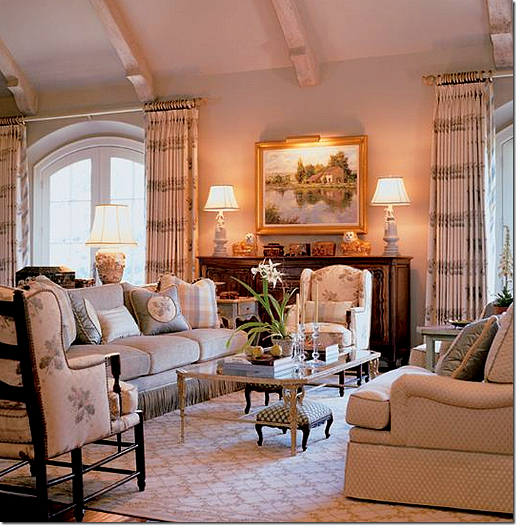 Country Living Room Design Inspiration The Late Charles Faudree French Country Timeless Designs Click Design Inspiration