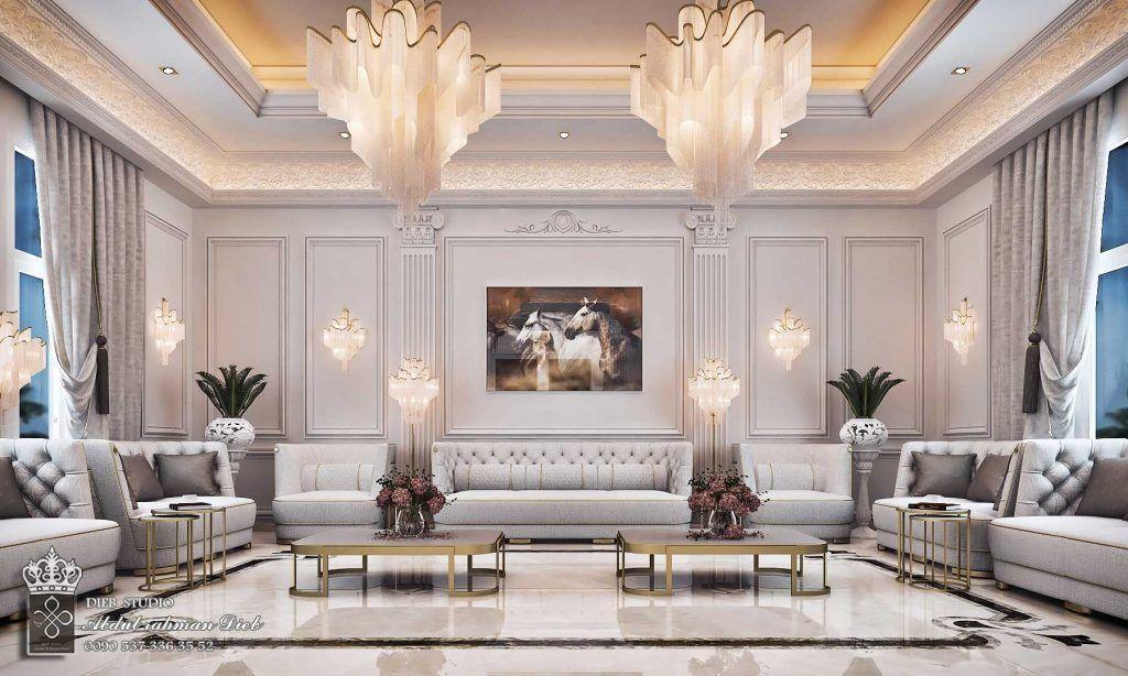 Men Majles Classic Interior Design Living Room Sitting Room Interior Design Modern Classic Interior
