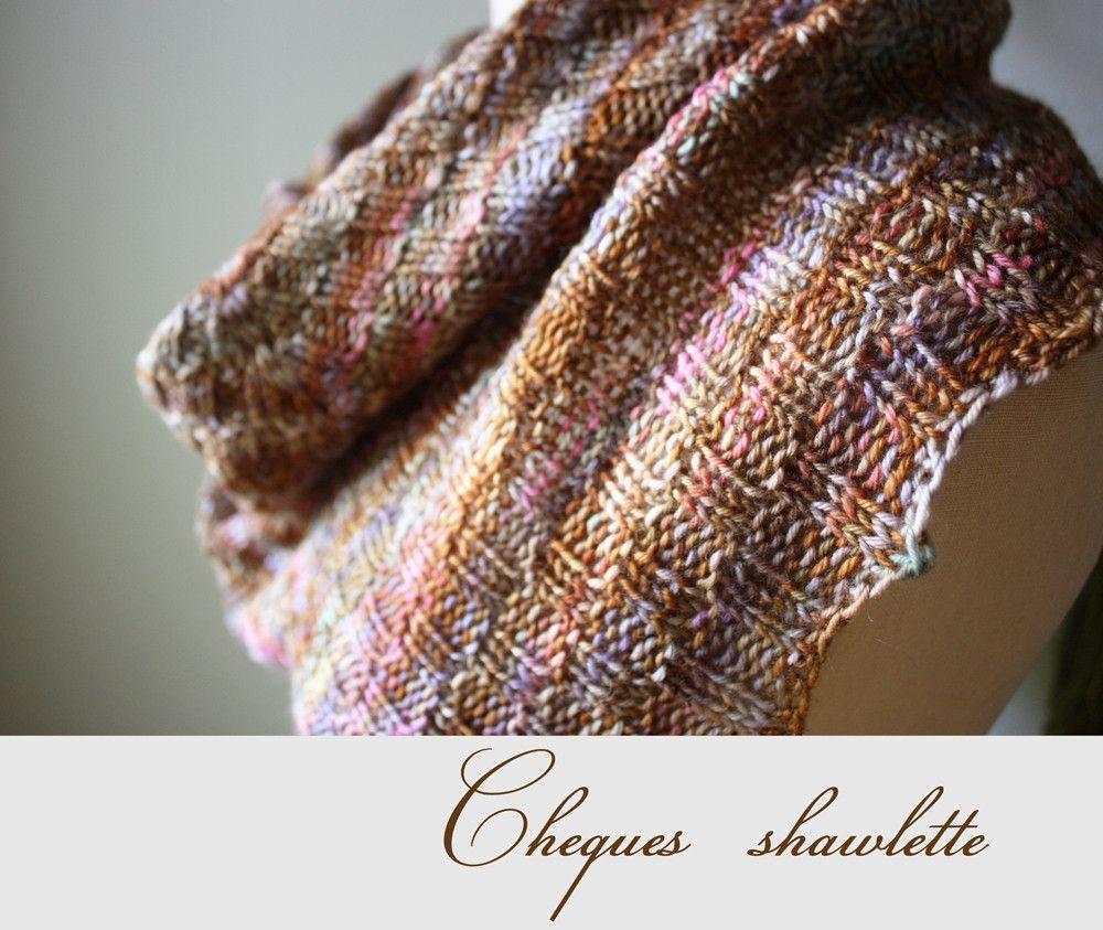 Cheques checkered rib shawlette knitting pattern knitting patterns cheques checkered rib shawlette knitting pattern dt1010fo