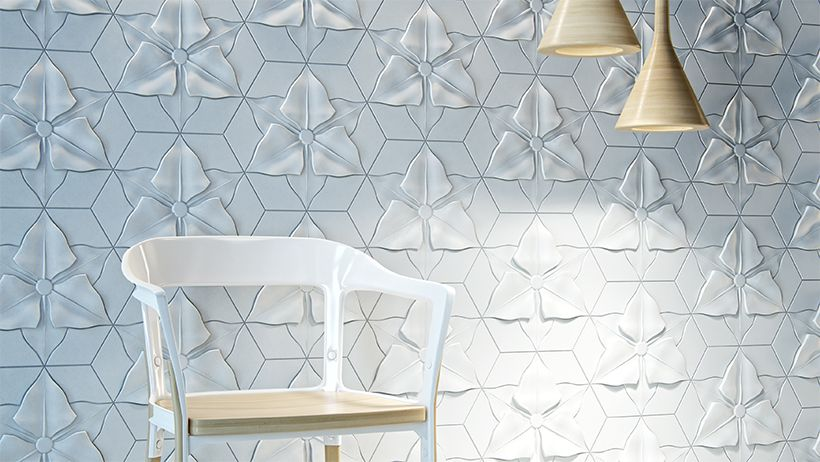 Textured Concrete Tiles With Relief Motifs Wall Tiles Design 3d Wall Panels 3d Wall Tiles