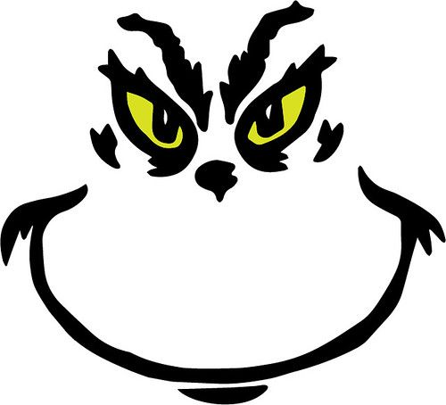 Download Grinch Face (With images) | Grinch face svg, Grinch crafts ...