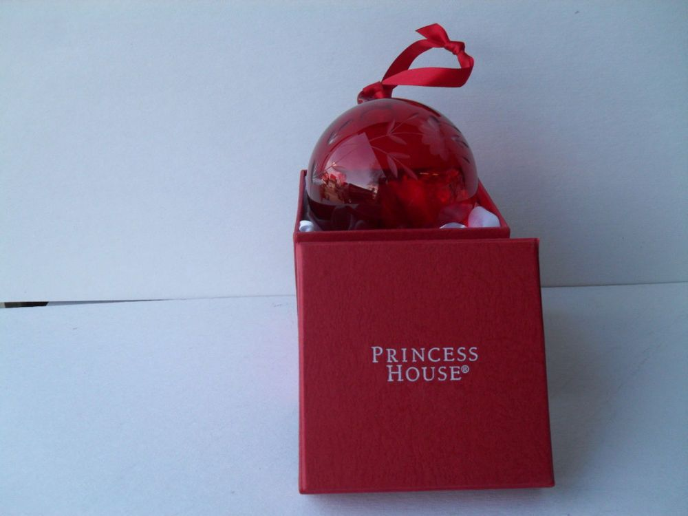 pinterest princess house princess house ruby red crystal heritage etched pattern ball