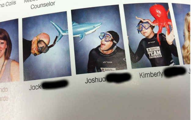 Funny Yearbook Posters: Including Marine Biology.