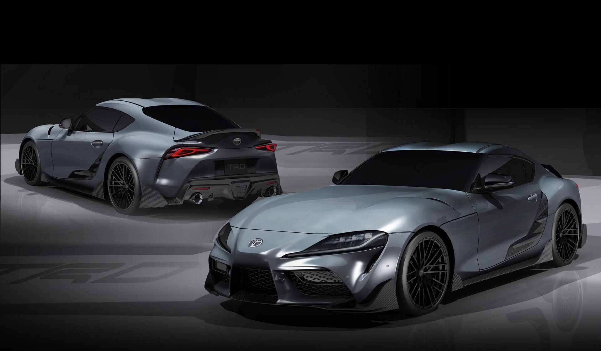 Trd Gives 2020 Toyota Gr Supra First Real Tune With Performance Line Concept Carscoops New Toyota Supra Toyota Supra Toyota Racing Development