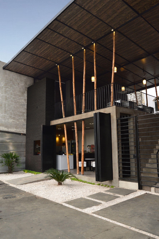 Restaurant exterior architecture - Architecture Interiors