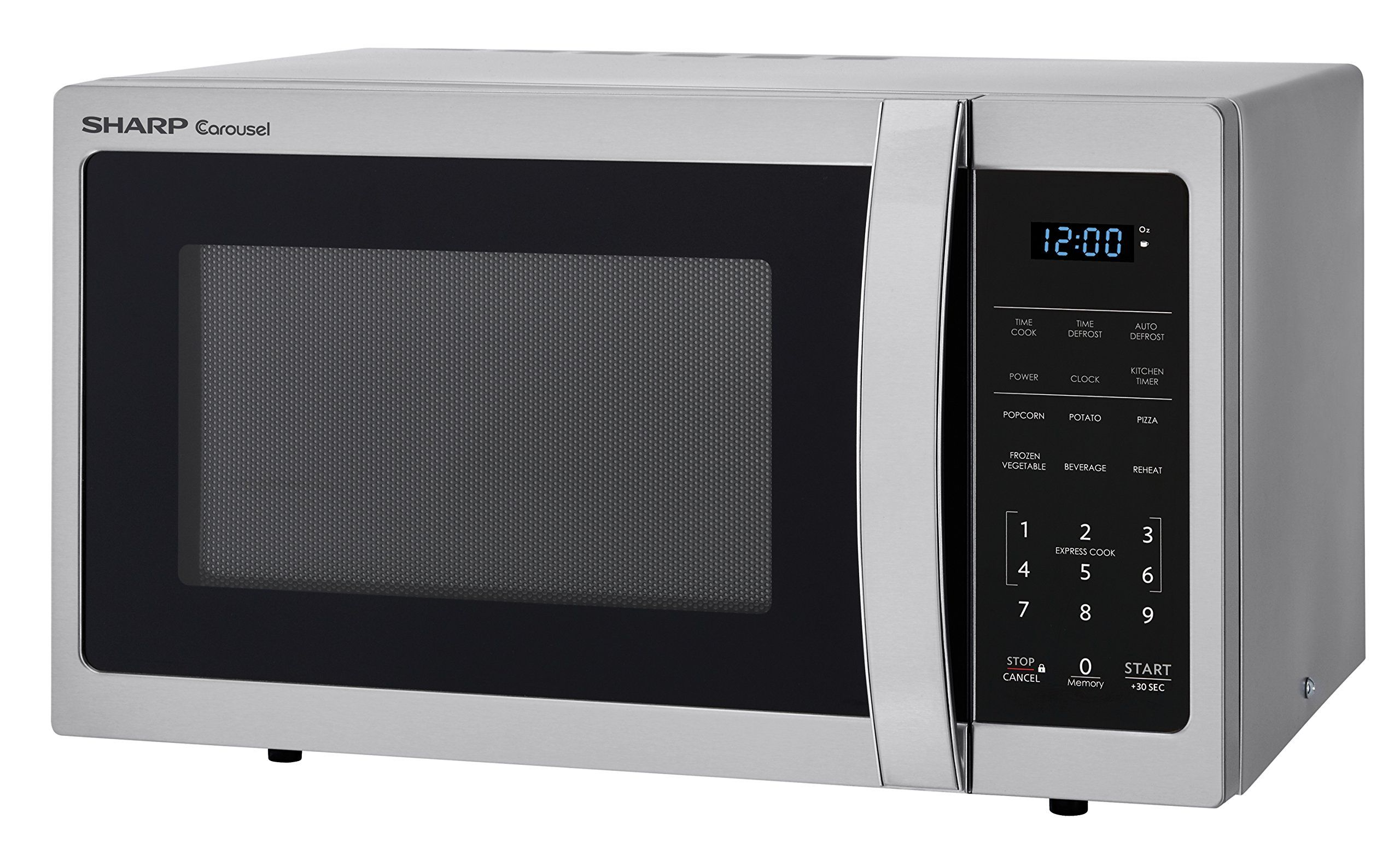 Sharp Microwaves Zsmc0912bs Sharp 900w Countertop Microwave Oven