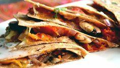 Quesadillas Vegetarianas + Tortillas caseras integrales   GreenVivant