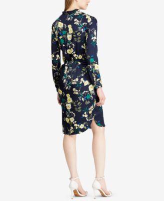 8a50d4cfb46b1 Lauren Ralph Lauren Floral-Print Twill Shirtdress - Multi 14 ...